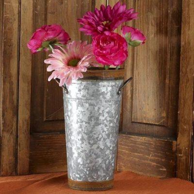 Tall Tin Bucket