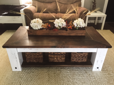 Chunky Coffee Table