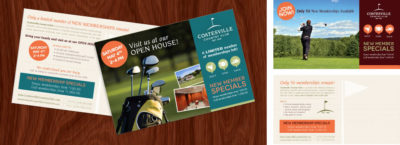 Coatesville Country Club Direct Mail