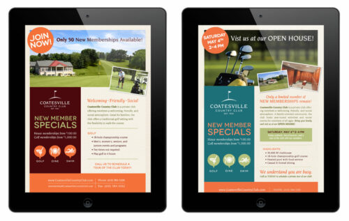 Coatesville Country Club Emailers