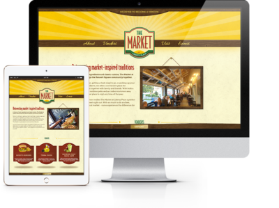 The Market Website Featured