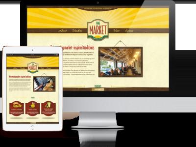 The Market Website Featured