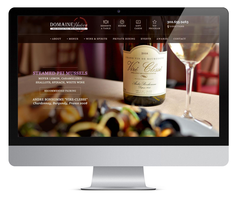 Domaine Hudson Websiteite