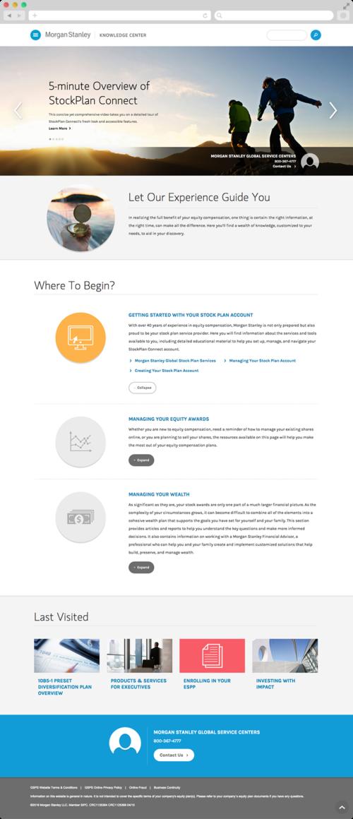 Morgan Stanley Website