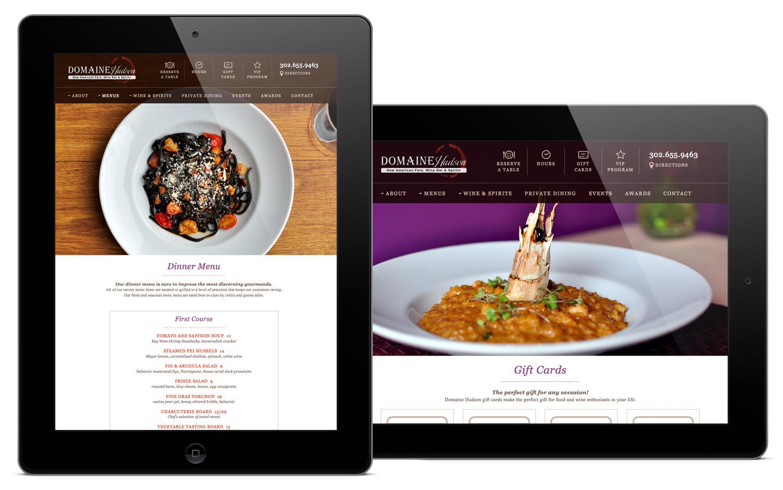 Domaine Hudson Website