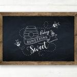 Chalkboard Printable Artwork