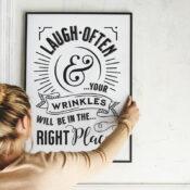 Laugh Often Printable