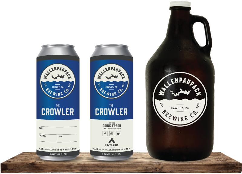 Wallenpaupack Brewing Company Crowler & Growler