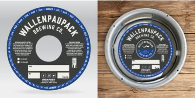 Wallenpaupack Brewing Co. Keg Collar