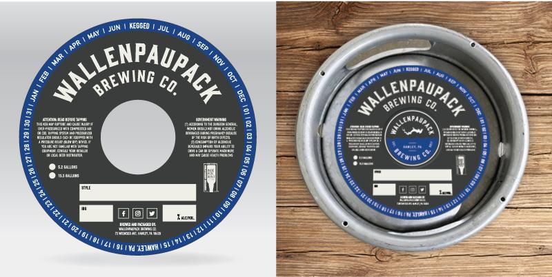 Wallenpaupack Brewing Co. Keg Collar