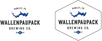 Wallenpaupack Brewing Company Logo Variations
