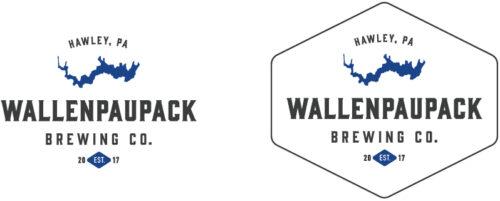 Wallenpaupack Brewing Company Logo Variations
