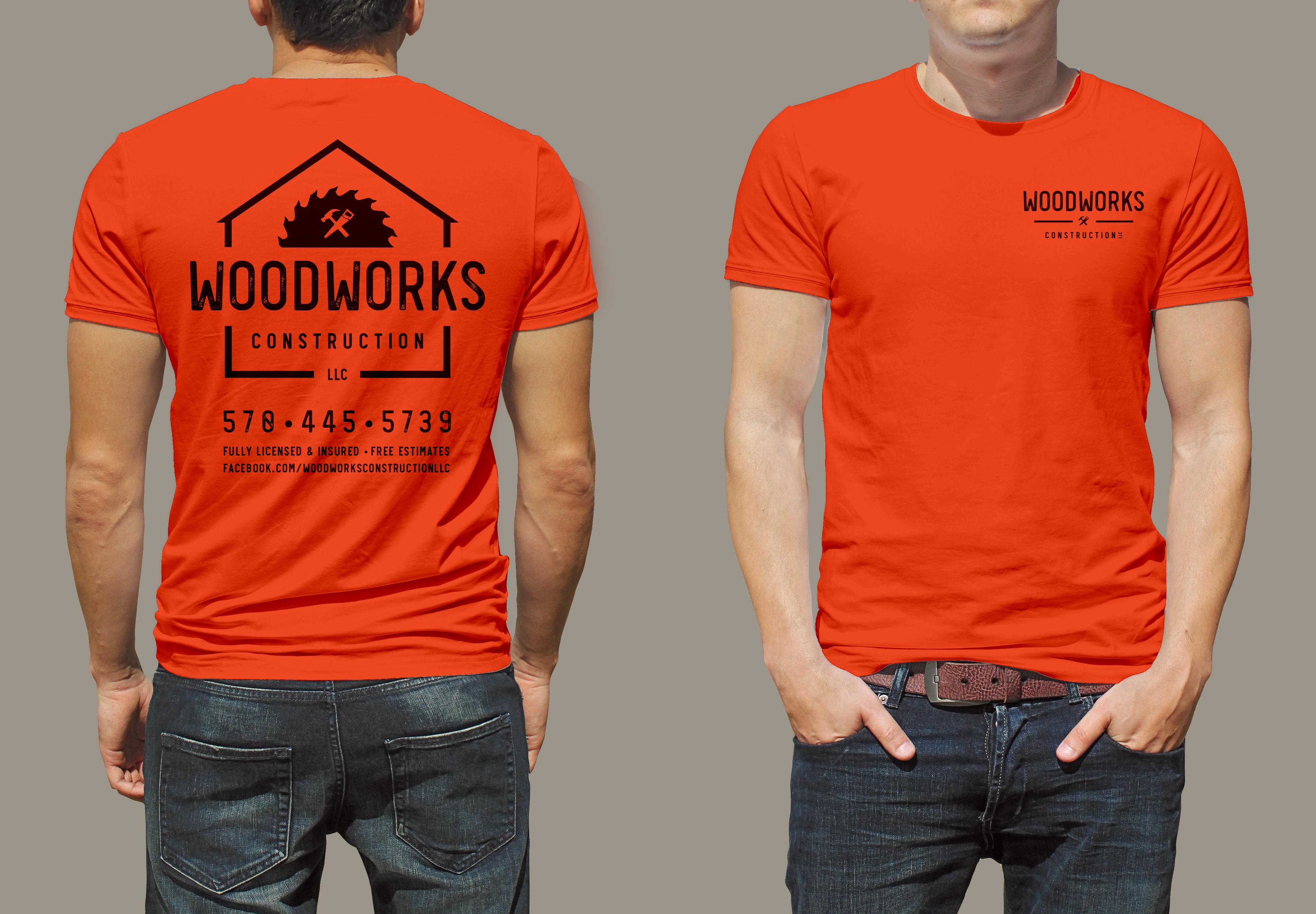 Woodworks T-Shirt Design