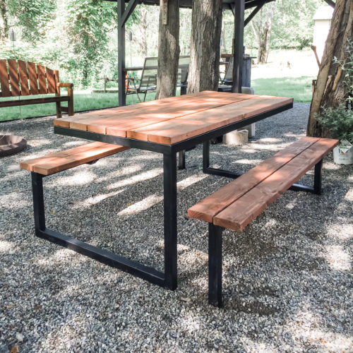 Industrial Picnic Table