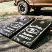 Jack Daniels Cornhole Boards