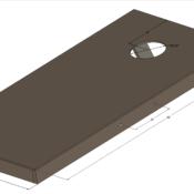 Jack Daniels Cornhole Boards Portable