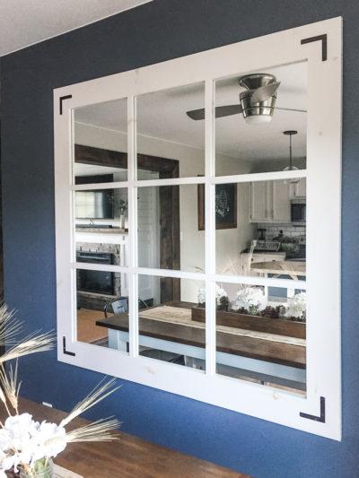 DIY Farmhouse Mirror