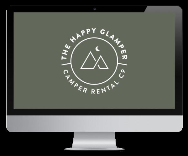 The Happy Glamper Co. Mockup
