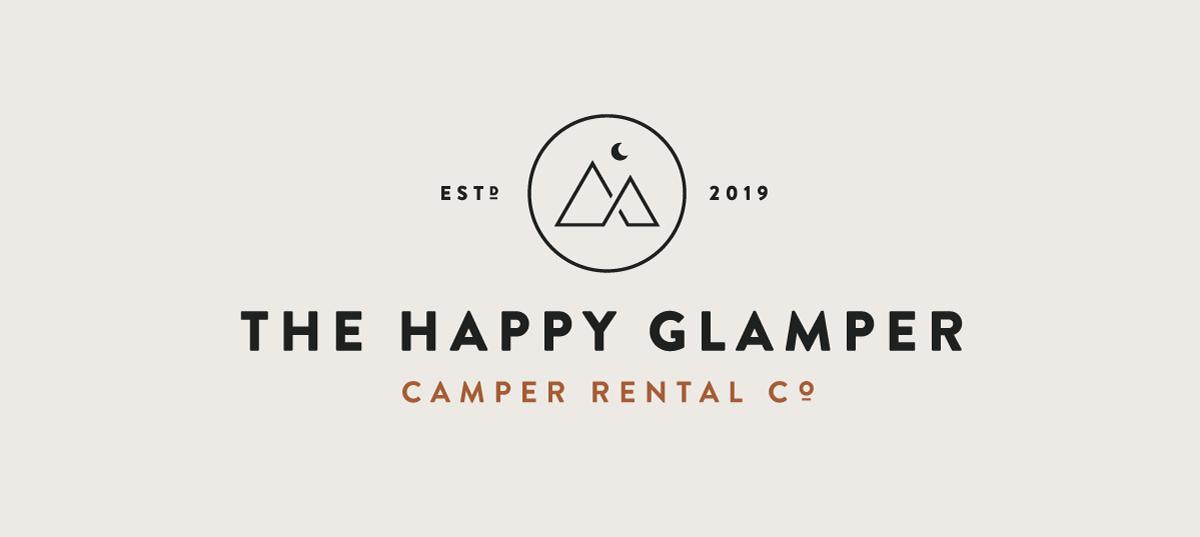 The Happy Glamper Co. Branding