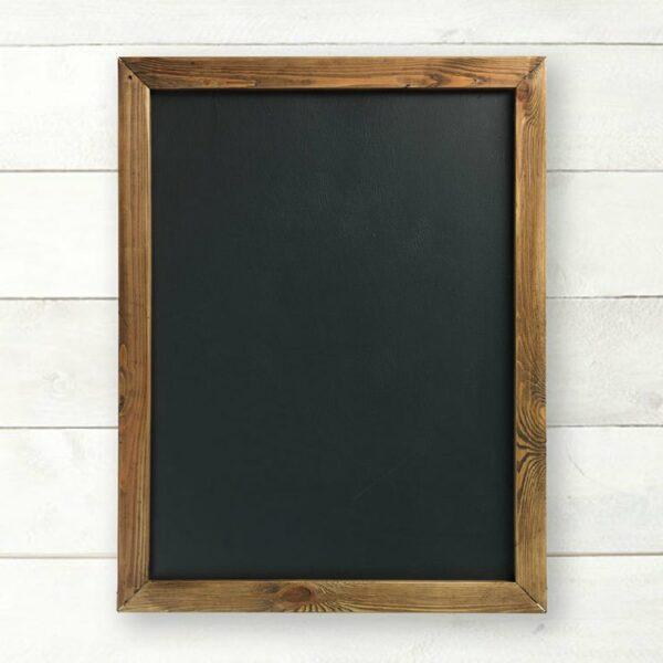 Blank Chalkboard with Shiplap