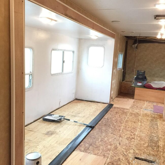 Painting RV walls