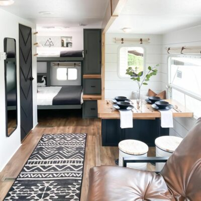 RV Renovation Painted Walls