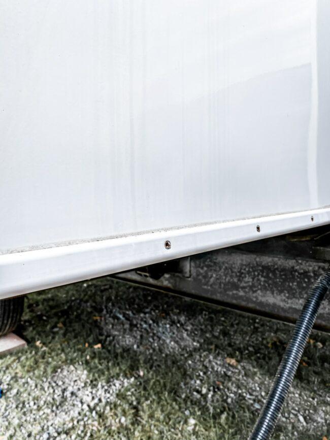 Camper Exterior Screws