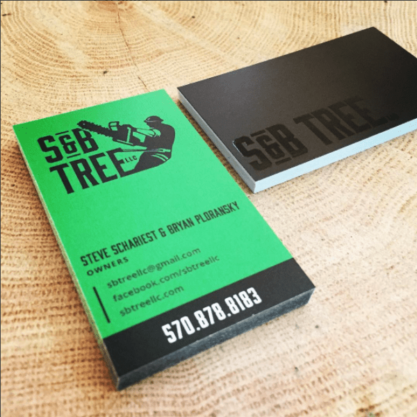 S&B Tree Business Cards