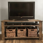 Pallet TV Stand Front