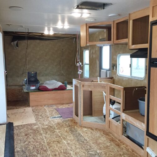 How to paint camper walls