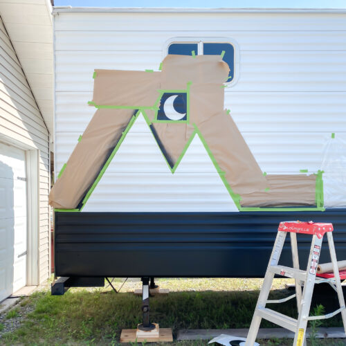 Painting a Camper