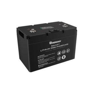 12V 100Ah Smart Lithium Iron Phosphate Battery
